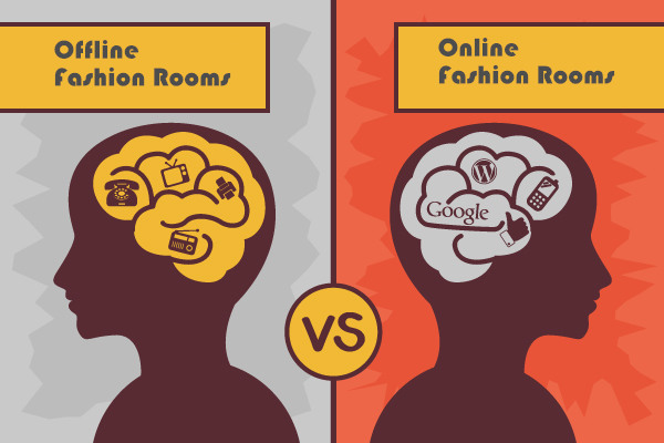 Online Fashion Rooms VS Offline Fashion Rooms